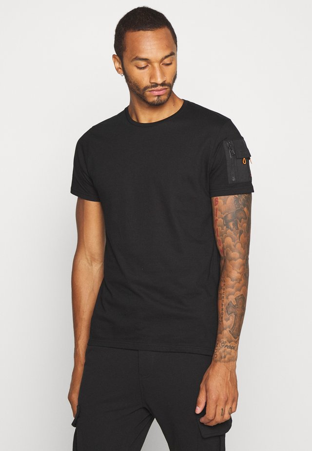 FOXTROT - Basic T-shirt - black