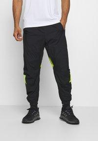 adidas Performance - URBAN PANT - Jogginghose - black/neon green - 0