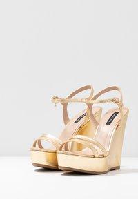 Patrizia Pepe - Korolliset sandaalit - gold star - 4