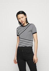 Lauren Ralph Lauren - Print T-shirt - black/white - 0