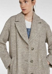 SET - Classic coat - offwhite brown - 3