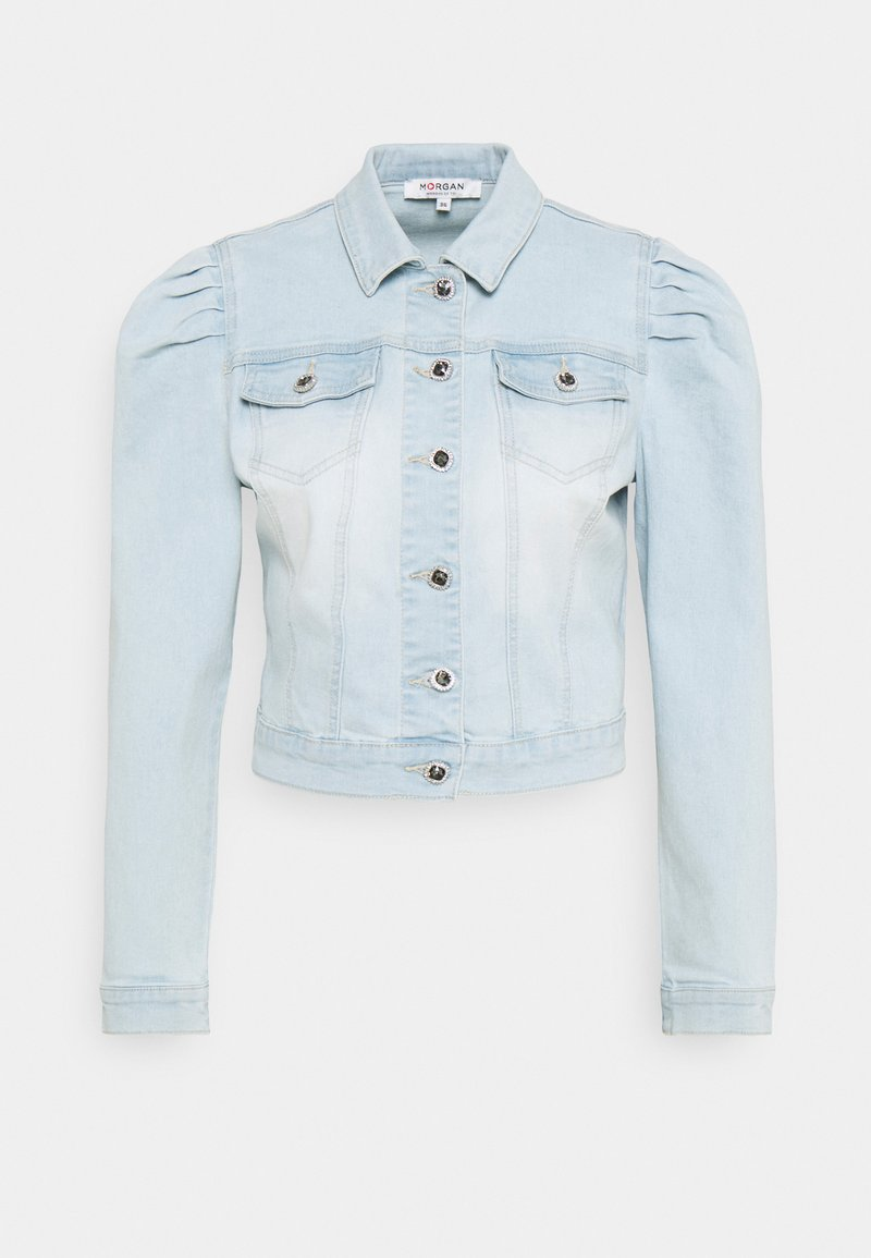 Morgan - VALERIA - Denim jacket - jean bleached