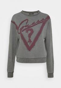 Guess - GRAFFITI  - Sweatshirt - coldjet black - 5