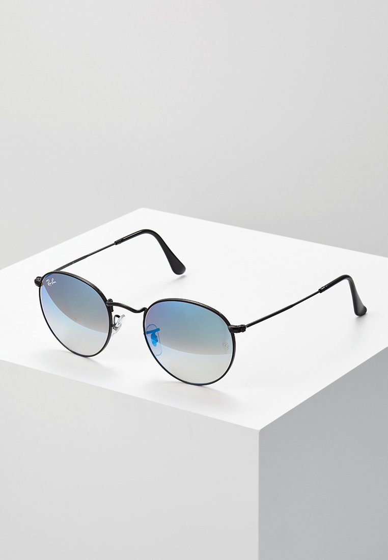 Ray-Ban - ROUND - Sunglasses - mirror/gradient blue