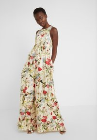 Mother of Pearl - SLEEVELESS BUTTON FRONT JUMPSUIT - Jumpsuit - wild flower - 0