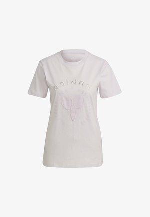 TENNIS LUXE GRAPHIC ORIGINALS - T-shirt imprimé - pearl amethyst