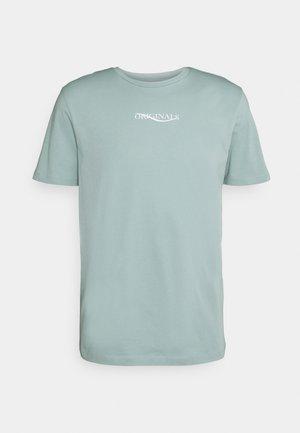 JORELIAS TEE CREW NECK - T-shirt med print - blue surf