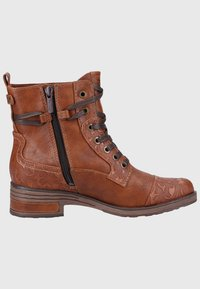 Mustang - Lace-up ankle boots - cognac - 6