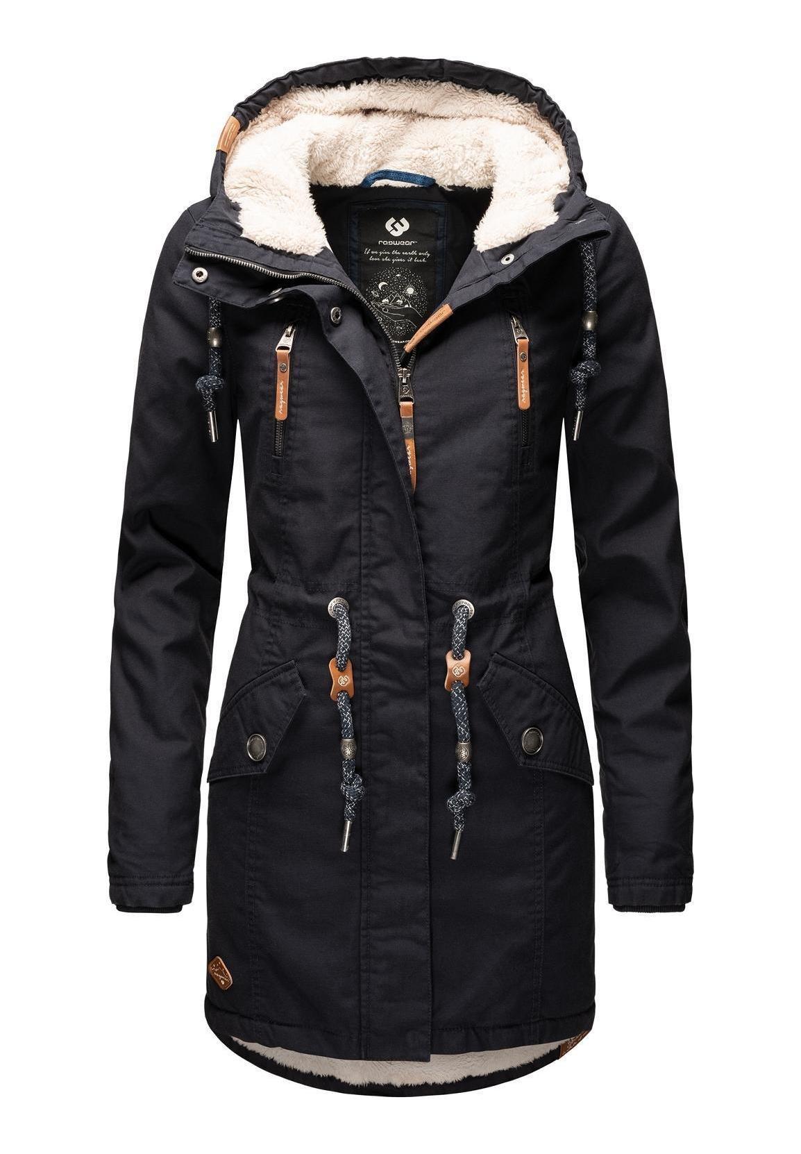 Blaue Winterjacken für Damen online bestellen | Zalando