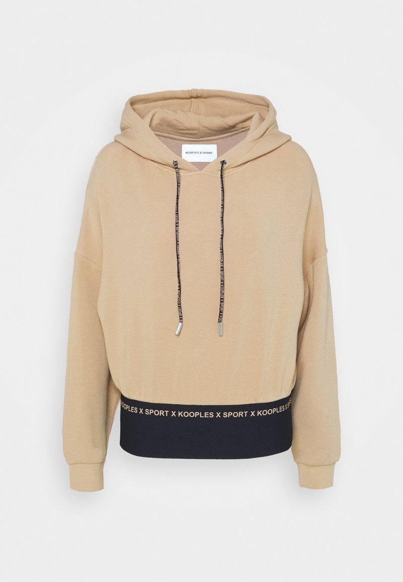 The Kooples - Sweatshirt - camel