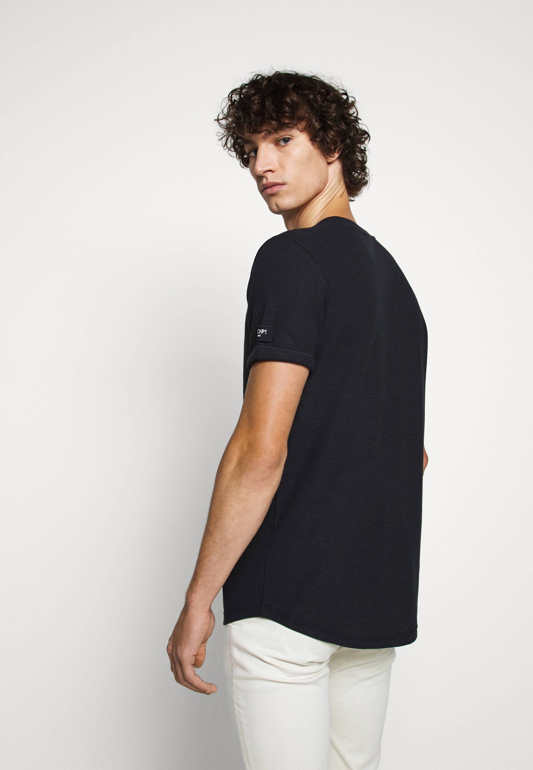 JOOP! Jeans LEON - Basic T-shirt - dark blue vOrIn