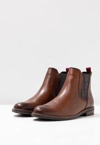 Marco Tozzi - Boots à talons - chestnut - 4