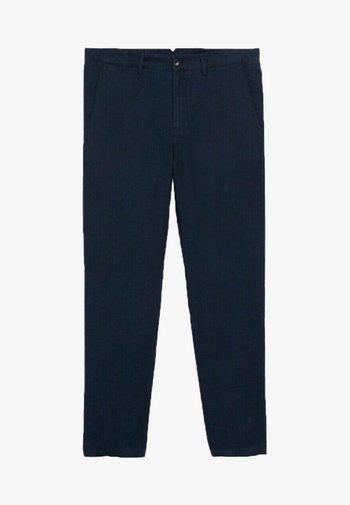 Chino kalhoty - dunkles marineblau