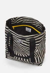 Lacoste - Tote bag - black/white