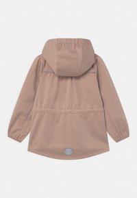 Wheat - GILDA UNISEX - Soft shell jacket - fawn melange - 1