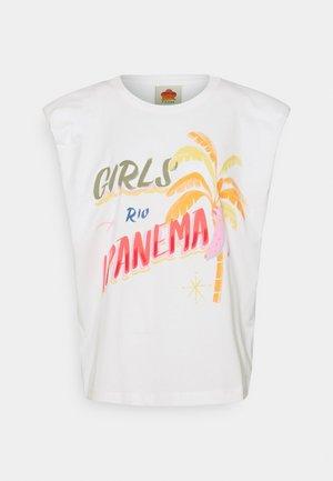 GIRLS RIO IPANEMA GRAPHIC - T-shirts med print - off-white