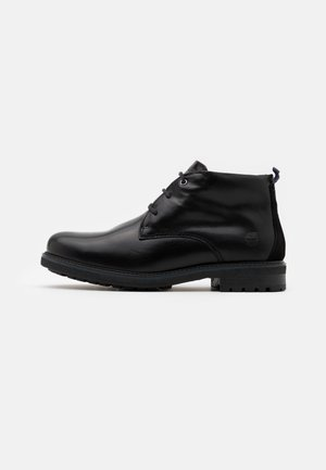 OAKROCK WP CHUKKA - Lace-up ankle boots - black