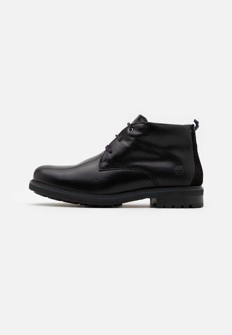 Timberland - OAKROCK WP CHUKKA - Lace-up ankle boots - black