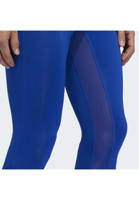 adidas Performance - ALPHASKIN 2.0 SPORT LONG TIGHTS - Leggings - blue - 5