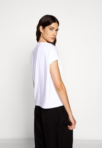3.1 Phillip Lim - GATHERED TANK RING - T-shirt imprimé - white