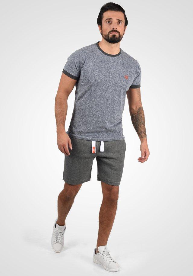 BENN - Shorts - grey melange