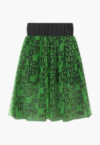 DKNY - A-line skirt - fluo green - 1
