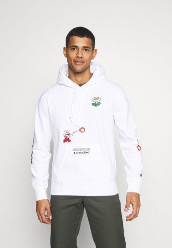 HOODED NINTENDO - Sweatshirt - white