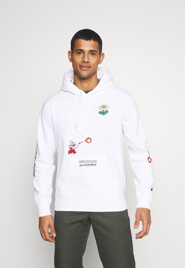 HOODED NINTENDO - Sweater - white