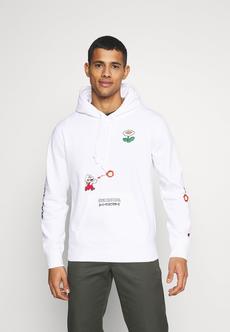 Champion Rochester - HOODED NINTENDO - Sweatshirt - white