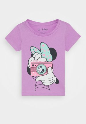 TODDLER GIRL  - Print T-shirt - purple orchid