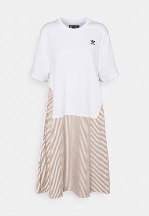 Dry Clean Only xSHIRT DRESS - Jersey dress - white