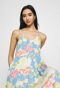 Vila - VIMESA STRAP DRESS - Maxi dress - cashmere blue - 3