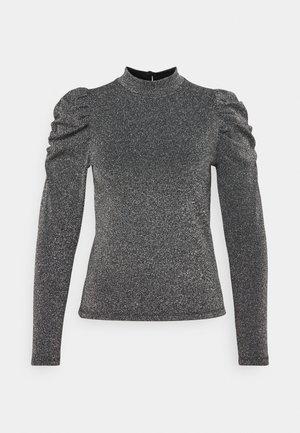 ONLDONNA - Long sleeved top - dark grey