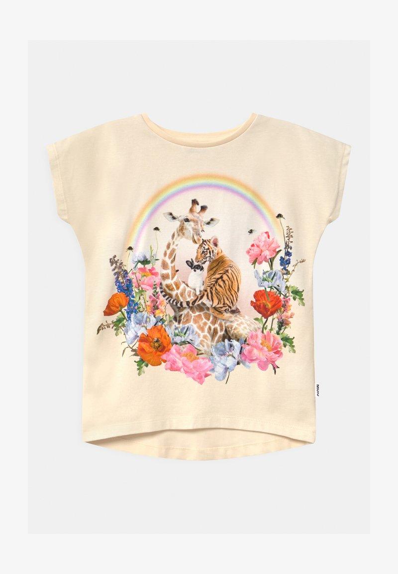 Molo - RAGNHILDE - Print T-shirt - off-white