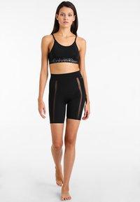 Calvin Klein Underwear - SHORT - Pyjamabroek - black - 1