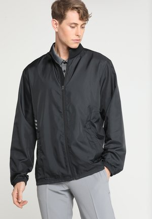 ADIDAS ESSENTIALS WIND JACKET FULL ZIP - Sportovní bunda - black