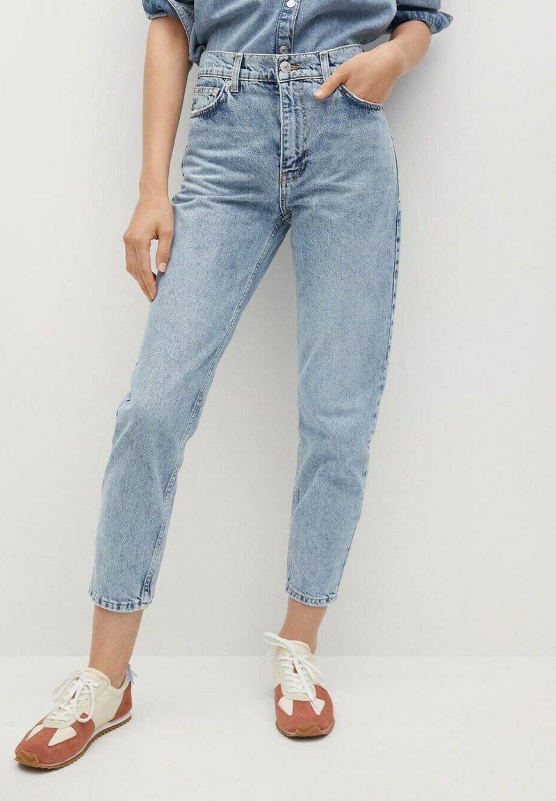 Mango - Jeans Tapered Fit - medium blue