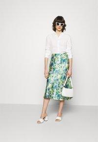 Lindex - SKIRT MEDEA - A-line skirt - blue - 1
