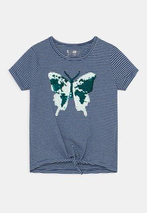 KID - T-shirt con stampa - indigo blue