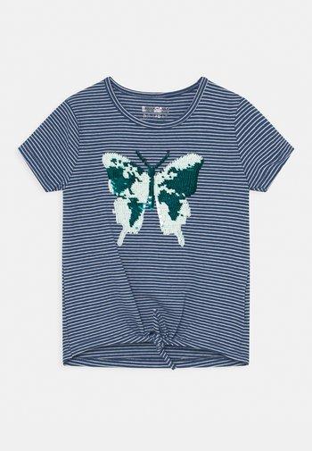 KID - Print T-shirt - indigo blue