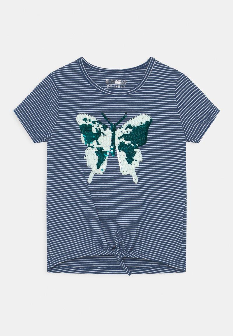 Staccato - KID - Print T-shirt - indigo blue