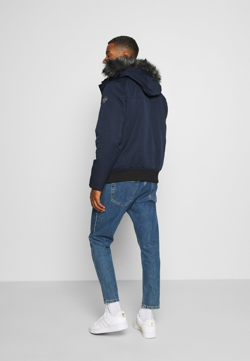 Hollister Co. Winterjacke - navy/dunkelblau Apvpf0