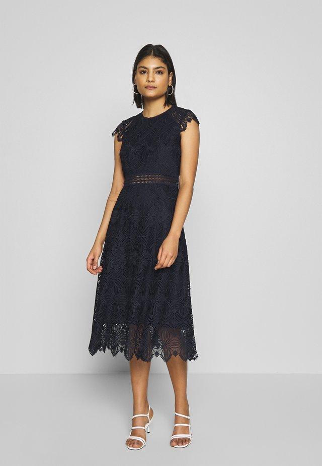DRESS MIDI - Day dress - navy blue