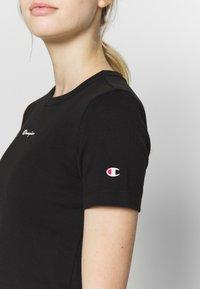 Champion - CREWNECK - T-shirt basic - black - 5