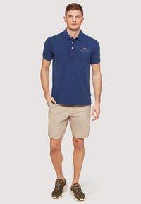 Napapijri - ELBAS - Polo shirt - blue - 1