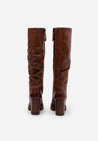 MJUS - High heeled boots - mustard - 3