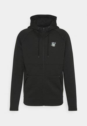 EXHIBIT ZIP THROUGH HOODIE - Strickjacke - black