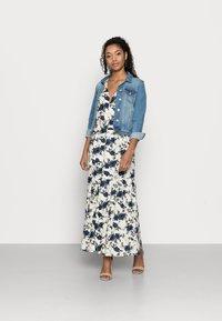 VILA PETITE - VIEFIE  DRESS PETITE - Maxi dress - birch/flowers - 1