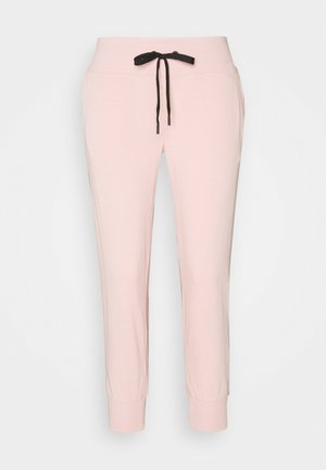 TRACK LOGO - Pantalon de survêtement - rosewater