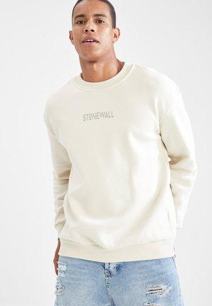 BOXY FIT - Sweatshirt - beige